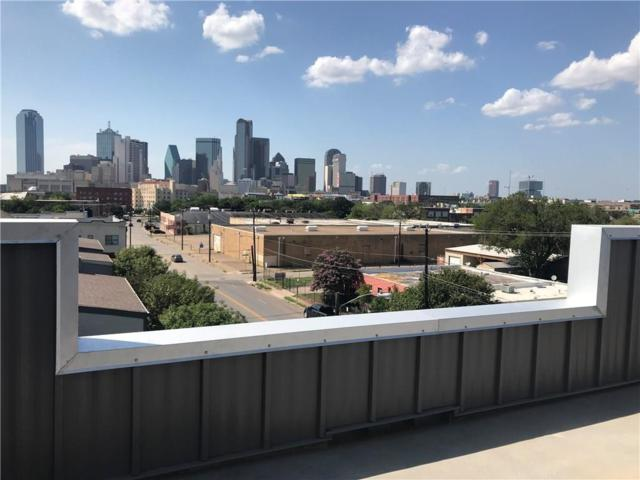 1625 Hickory Street #105, Dallas, TX 75215 (MLS #13941474) :: RE/MAX Town & Country