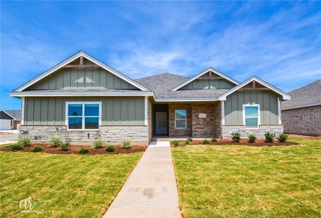 244 Sophia Lane, Abilene, TX 79602 (MLS #14095782) :: The Heyl Group at Keller Williams