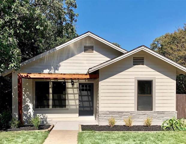 2333 Primrose Avenue, Fort Worth, TX 76111 (MLS #14098780) :: RE/MAX Town & Country