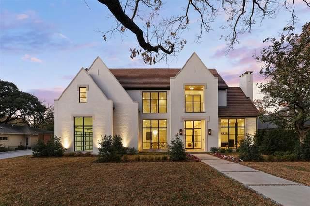 6043 Stefani Drive, Dallas, TX 75225 (MLS #14134863) :: The Tierny Jordan Network