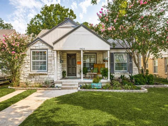 5923 Winton Street, Dallas, TX 75206 (MLS #14411755) :: Frankie Arthur Real Estate