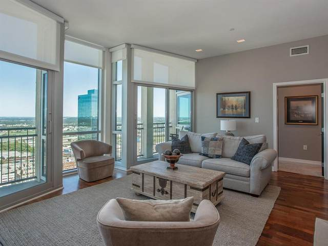 500 Throckmorton Street #3301, Fort Worth, TX 76102 (MLS #14423756) :: Real Estate By Design