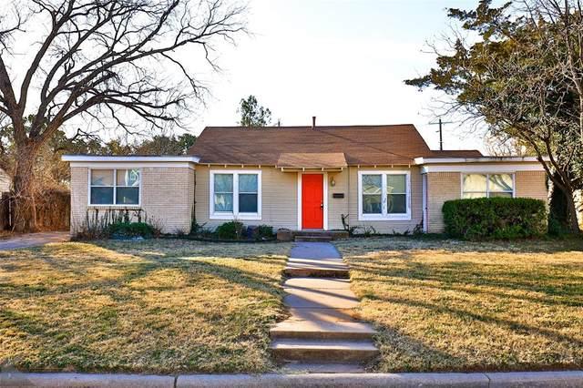833 E North 14th Street, Abilene, TX 79601 (MLS #14468760) :: The Mauelshagen Group