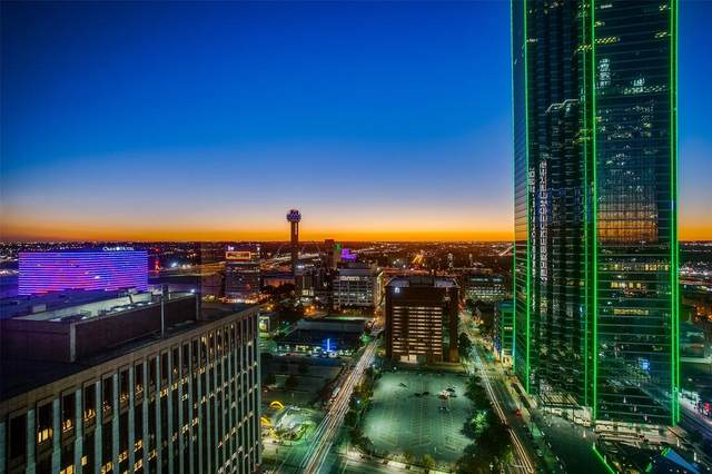 1200 Main Street #2404, Dallas, TX 75202 (MLS #14470497) :: The Hornburg Real Estate Group