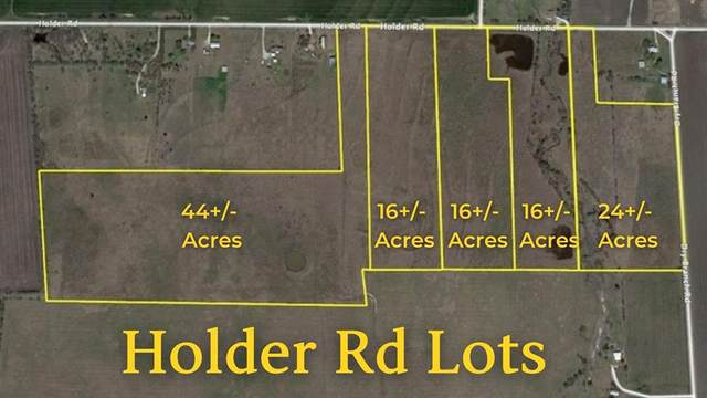 TBD Holder Road, Waxahachie, TX 75165 (MLS #14606619) :: The Star Team | Rogers Healy and Associates