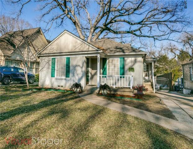 614 Blair Boulevard, Dallas, TX 75223 (MLS #13997385) :: RE/MAX Town & Country