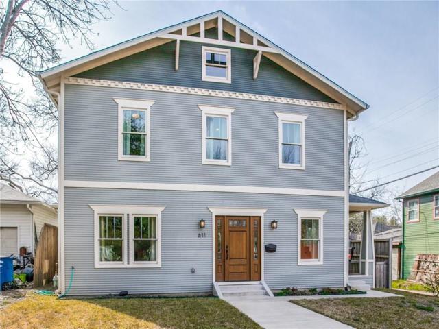 611 N Glasgow Drive, Dallas, TX 75214 (MLS #14011966) :: Robbins Real Estate Group