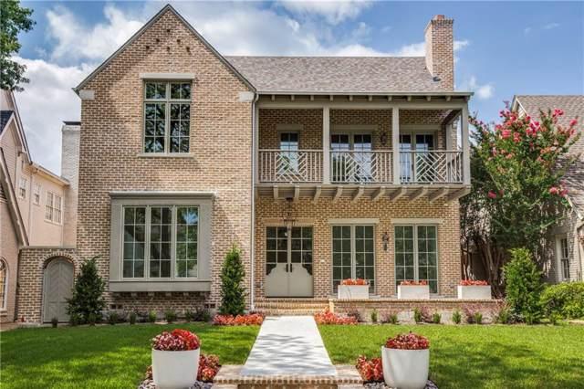 3740 Purdue Avenue, University Park, TX 75225 (MLS #14034510) :: Robbins Real Estate Group