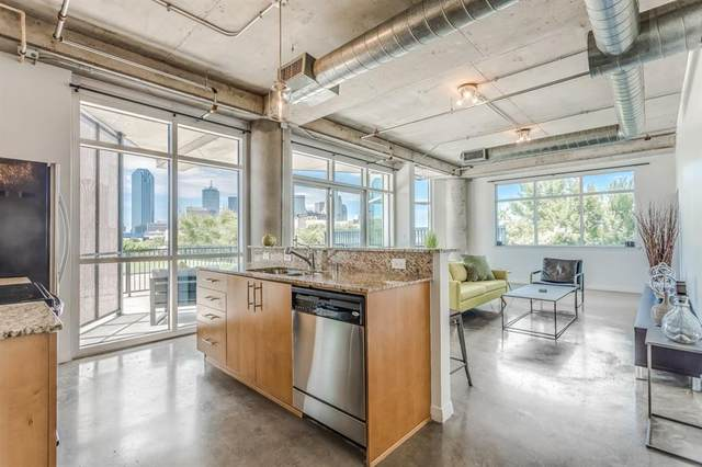 1001 Belleview Street #208, Dallas, TX 75215 (MLS #14304241) :: Front Real Estate Co.