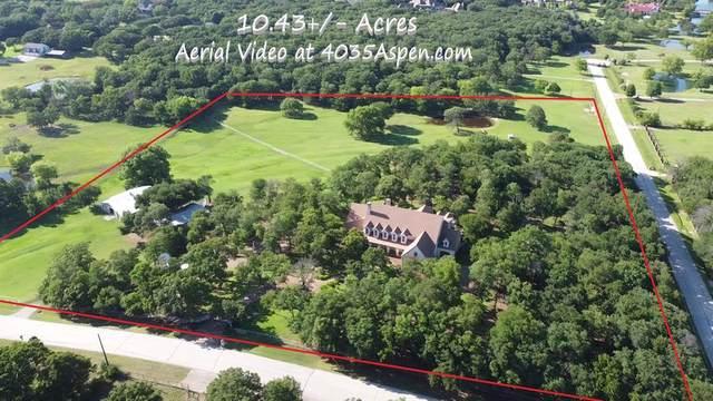 4035 Aspen Lane, Westlake, TX 76262 (MLS #14362062) :: The Kimberly Davis Group