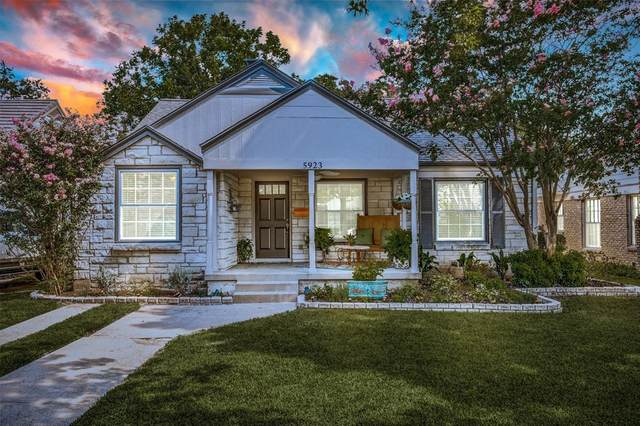 5923 Winton Street, Dallas, TX 75206 (MLS #14411755) :: The Mitchell Group