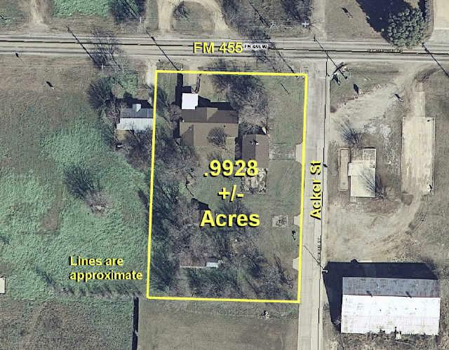 .99 ac Fm 455 West & Acker Street, Sanger, TX 76266 (MLS #11558042) :: The Kimberly Davis Group