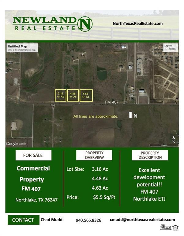 000000 Farm To Market Rd 407, Northlake, TX 76247 (MLS #13592946) :: The Real Estate Station