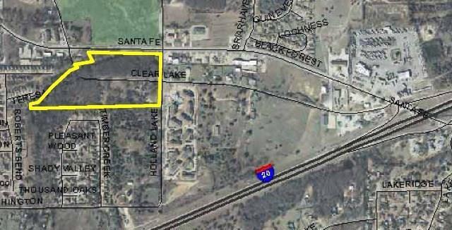 1600 Santa Fe Drive, Weatherford, TX 76086 (MLS #13698150) :: MLux Properties