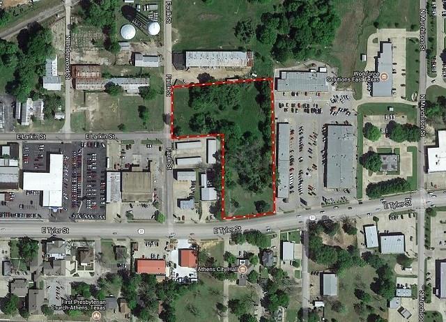 507 E Tyler Street, Athens, TX 75751 (MLS #13741297) :: Team Hodnett