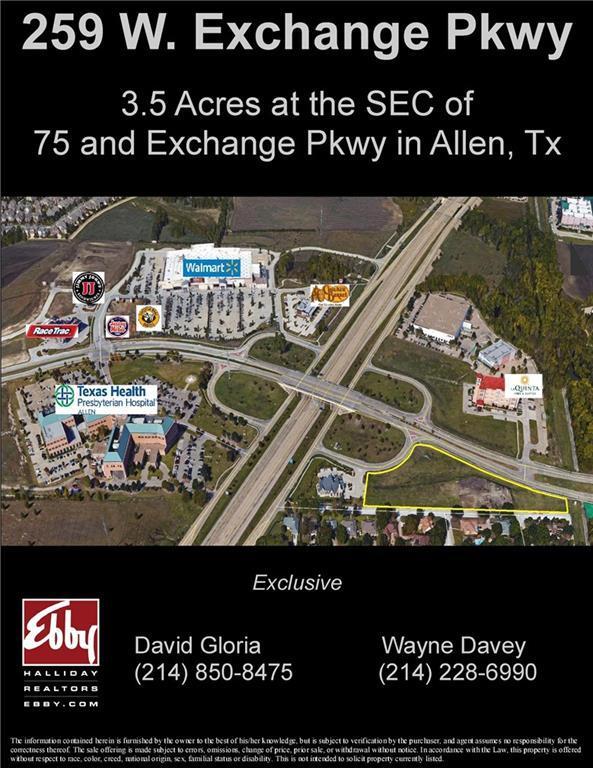 259 W Exchange Parkway, Allen, TX 75013 (MLS #13742482) :: Exalt Realty