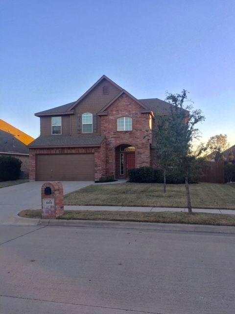 505 Castlebrook Court, Saginaw, TX 76179 (MLS #13744704) :: Team Hodnett