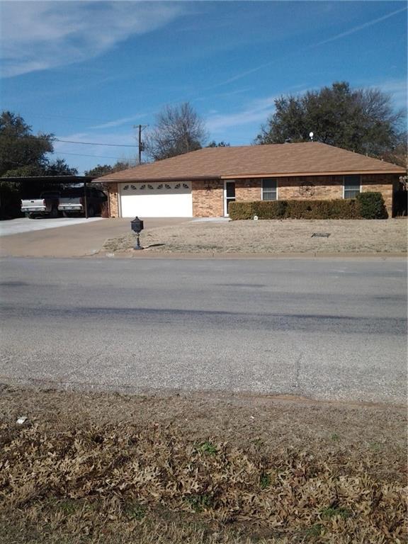 1203 Pine Tree Road, Graham, TX 76450 (MLS #13768804) :: Team Hodnett