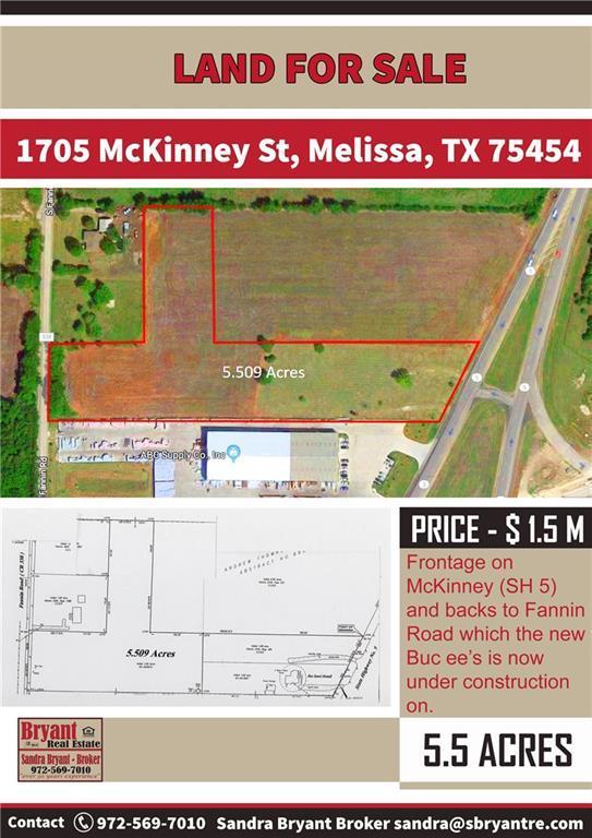 1705 Mckinney Street, Melissa, TX 75454 (MLS #13786059) :: The Heyl Group at Keller Williams