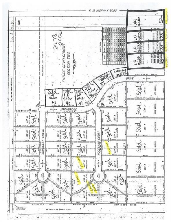 Lot 15 Woodland Court, Gainesville, TX 76240 (MLS #13786075) :: Team Hodnett