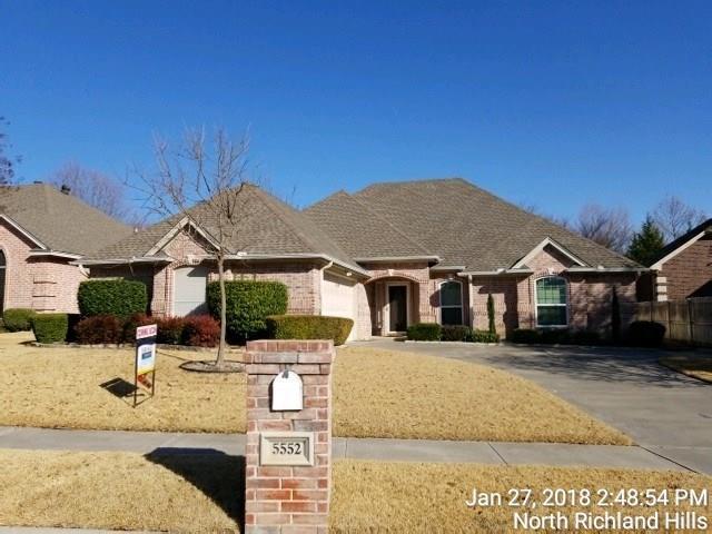 5552 Greenview Court, North Richland Hills, TX 76148 (MLS #13790195) :: Team Hodnett
