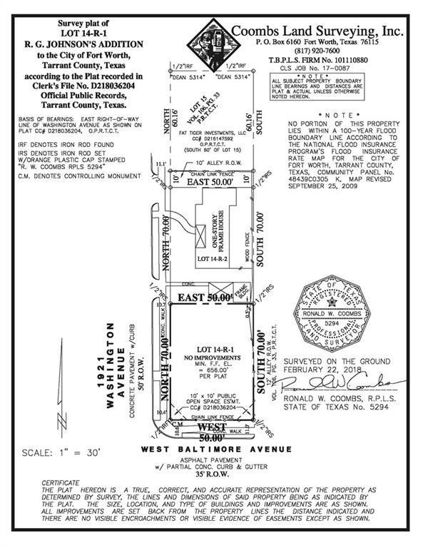 1921 Washington Avenue, Fort Worth, TX 76110 (MLS #13791494) :: Team Hodnett