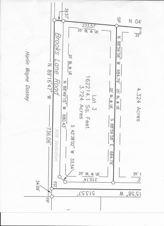 LOT 3 Brooks Lane, Sadler, TX 76264 (MLS #13796472) :: The Cheney Group