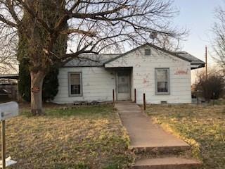 1604 Dallas Street, Colorado City, TX 79512 (MLS #13821926) :: Exalt Realty