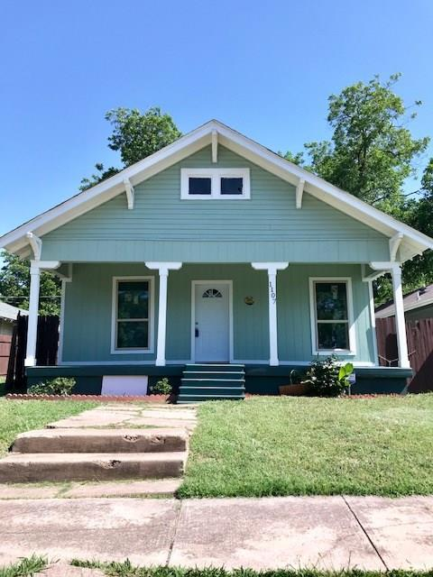 1107 E Baltimore Avenue, Fort Worth, TX 76104 (MLS #13846289) :: Century 21 Judge Fite Company
