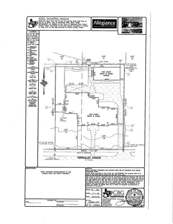 4324 Versailles Avenue, Highland Park, TX 75205 (MLS #13846922) :: Robbins Real Estate Group