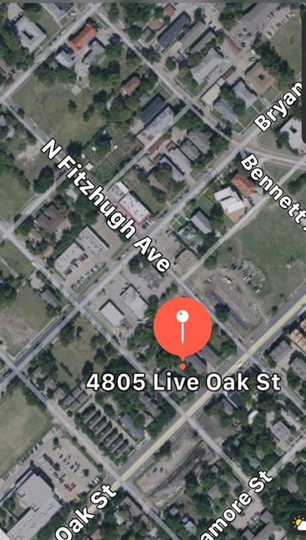 4805 Live Oak Street, Dallas, TX 75204 (MLS #13852887) :: Frankie Arthur Real Estate