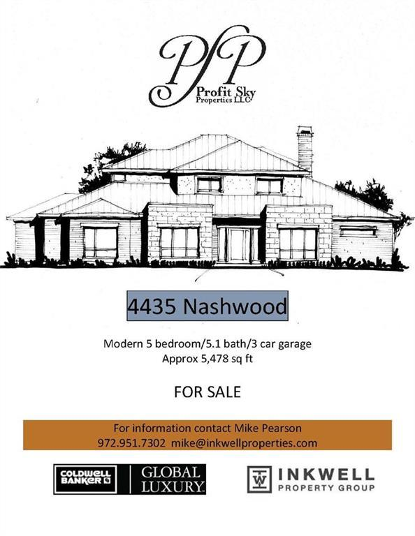 4435 Nashwood Lane, Dallas, TX 75244 (MLS #13871427) :: Team Hodnett