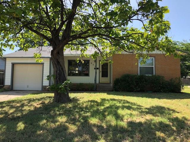 857 Green Street, Abilene, TX 79603 (MLS #13882645) :: Team Hodnett