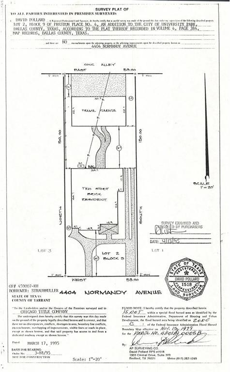 4404 Normandy Avenue, University Park, TX 75205 (MLS #13895189) :: Robbins Real Estate Group