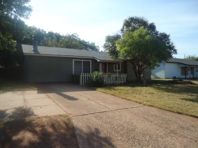 1825 Bel Air Drive, Abilene, TX 79603 (MLS #13897530) :: RE/MAX Landmark