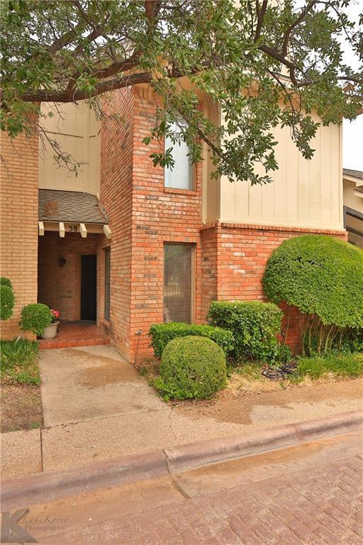 58 Fairway Oaks Boulevard, Abilene, TX 79606 (MLS #13902851) :: The Tonya Harbin Team