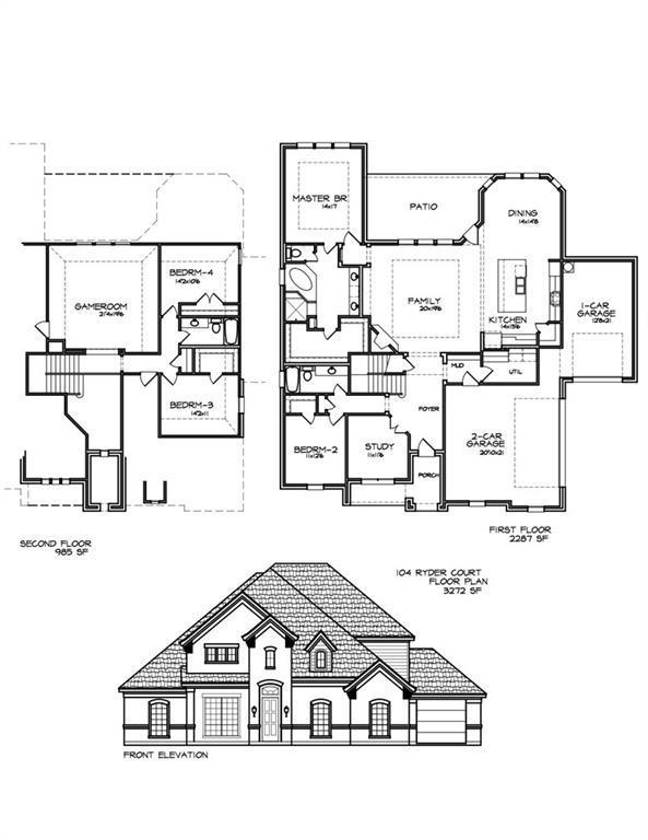 104 Ryder Court, Hurst, TX 76053 (MLS #13917587) :: NewHomePrograms.com LLC