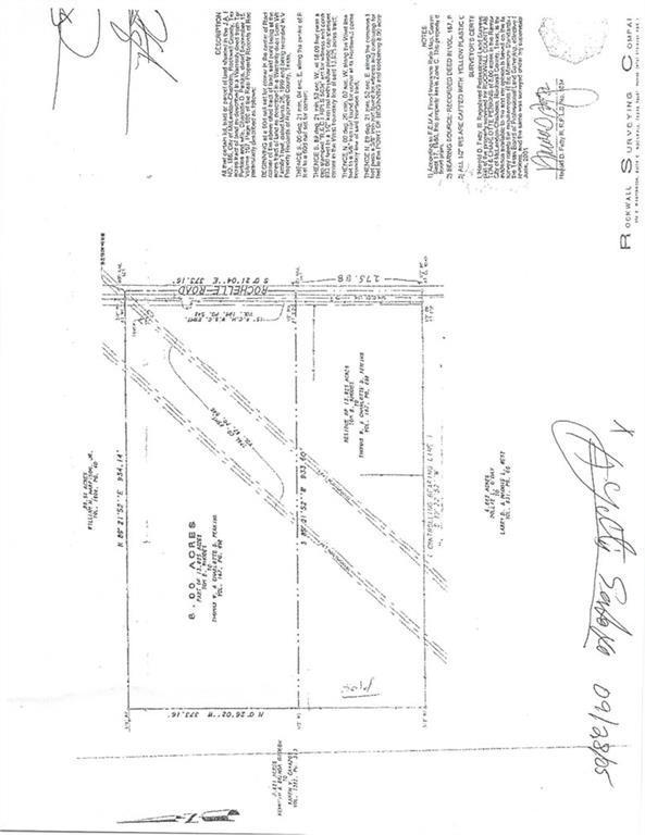 0000 Rochelle Road, Rockwall, TX 75032 (MLS #13918245) :: The Heyl Group at Keller Williams