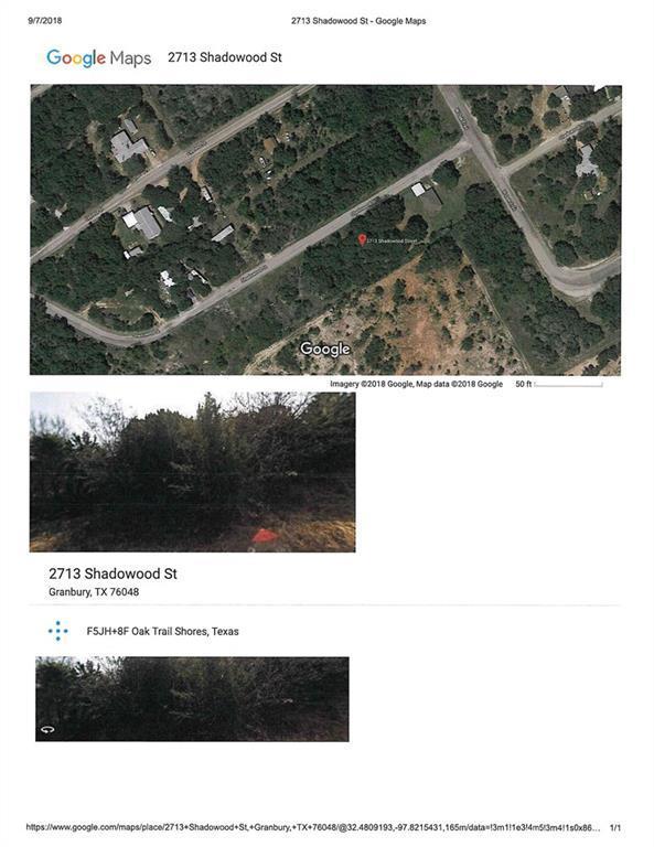 2713 S Shadowood Street, Granbury, TX 76048 (MLS #13930163) :: RE/MAX Town & Country