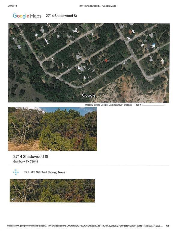 2714 S Shadowood Street, Granbury, TX 76048 (MLS #13930230) :: RE/MAX Town & Country