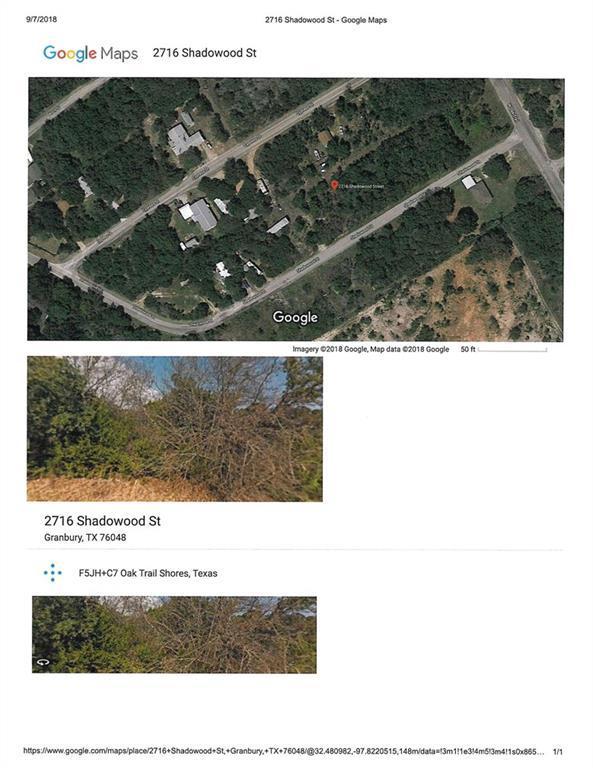 2716 S Shadowood Street, Granbury, TX 76048 (MLS #13930315) :: RE/MAX Town & Country