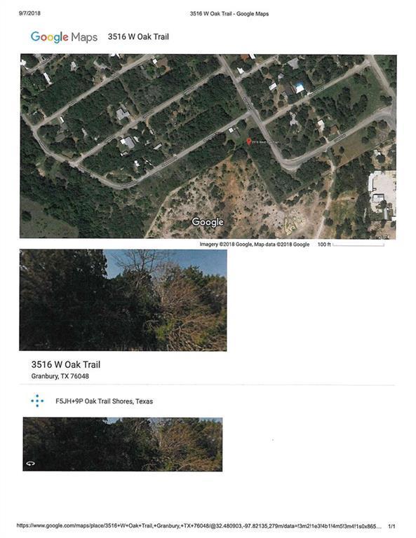 3516 W Oak Trail, Granbury, TX 76048 (MLS #13930325) :: RE/MAX Town & Country