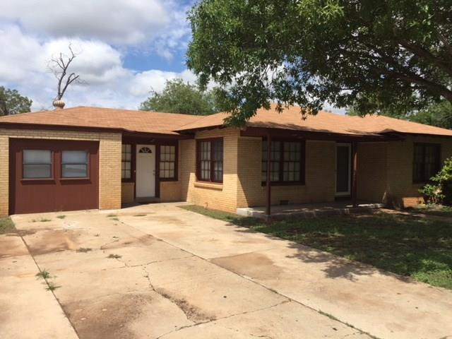 807 Crescent Drive, Sweetwater, TX 79556 (MLS #13932003) :: RE/MAX Landmark