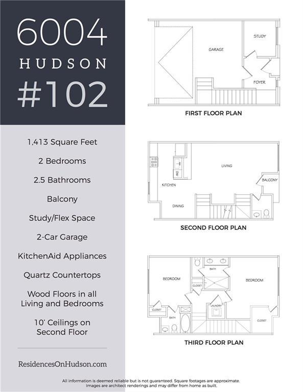 6004 Hudson Street #102, Dallas, TX 75206 (MLS #13939202) :: Magnolia Realty