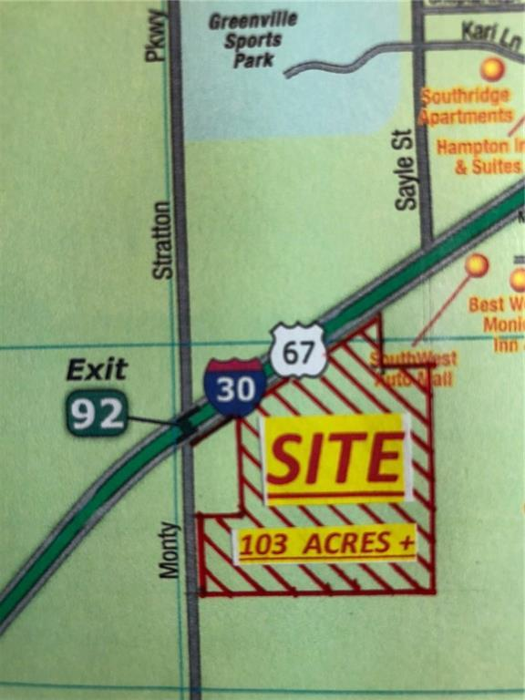 I-30 I-30 / Monty Stratton, Greenville, TX 75401 (MLS #13940375) :: Real Estate By Design