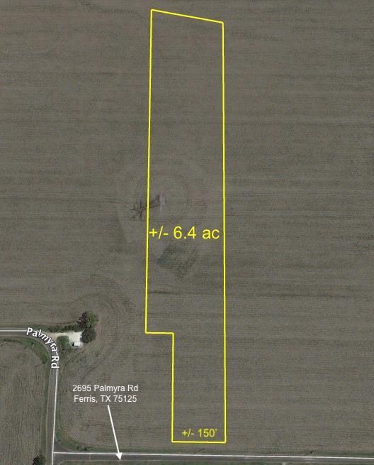 6.4ac Palmyra Road, Ferris, TX 75125 (MLS #13963005) :: The Real Estate Station