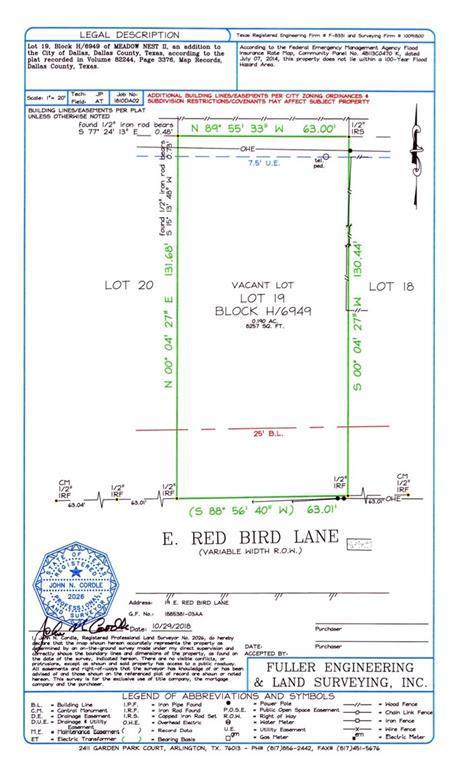 19 Red Bird Lane, Dallas, TX 75236 (MLS #13964891) :: Robbins Real Estate Group