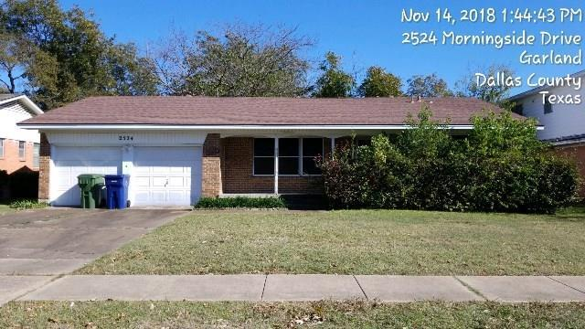 2524 Morningside Drive, Garland, TX 75041 (MLS #13974367) :: Magnolia Realty