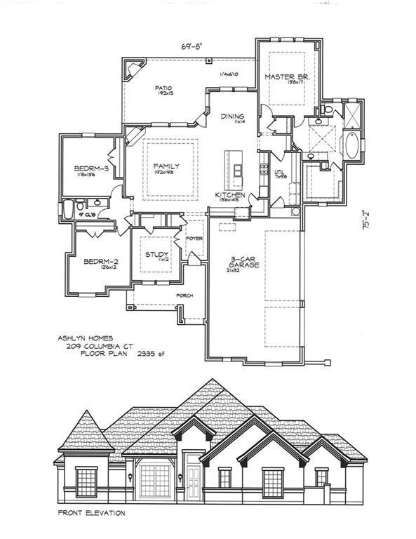 209 Columbia Court, Springtown, TX 76082 (MLS #13984932) :: Team Hodnett