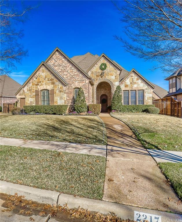 2217 Canterbury Drive, Mansfield, TX 76063 (MLS #13986657) :: The Chad Smith Team